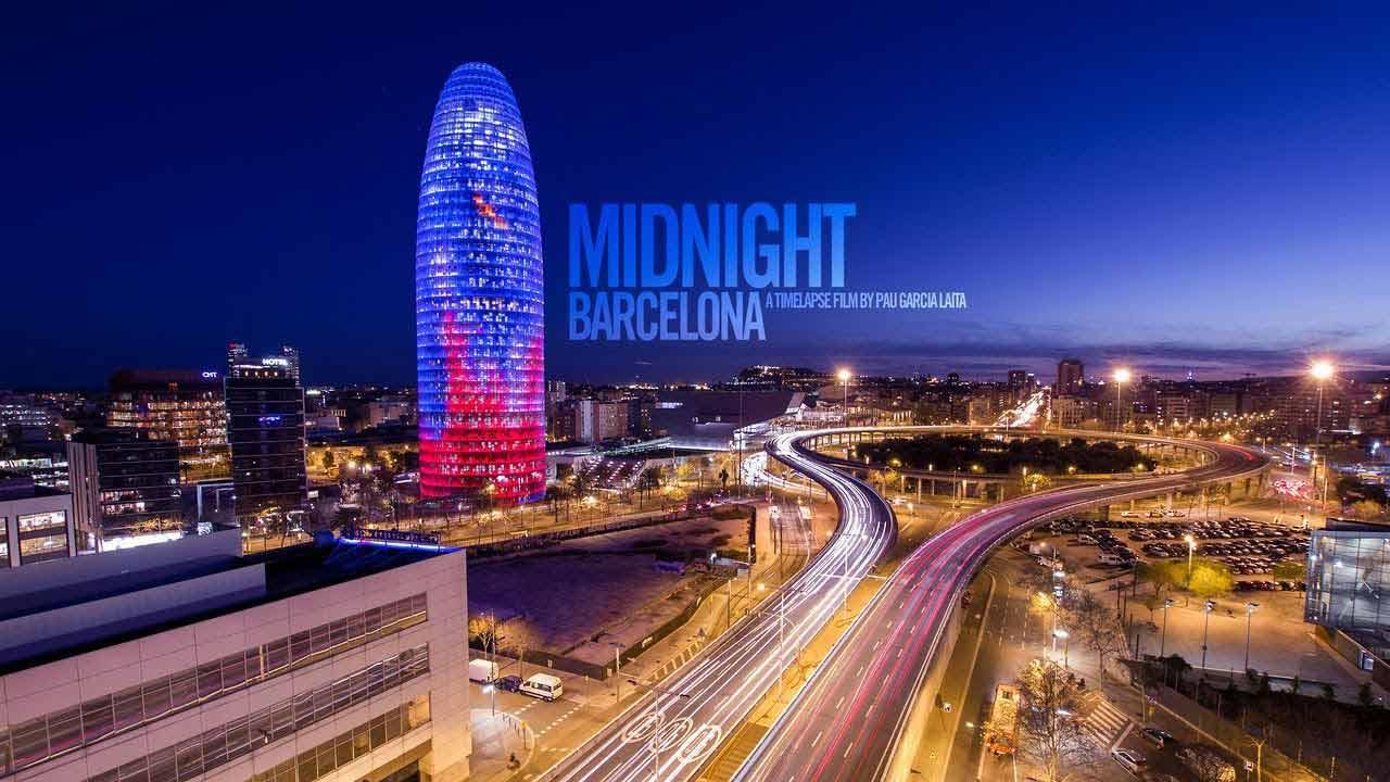 Midnight Barcelona